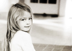 Going Back... (Shana Rae {Florabella Collection}) Tags: portrait blackandwhite texture girl child naturallight pearls replaced florabella nikond300 shanarae reeditedwithflorabellatextureetherealandreplace