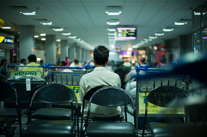 Awaiting / New Delhi - IGI Domestic Airport