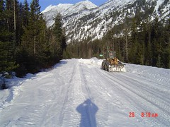 Getting to start clearing (WSDOT) Tags: northcascades highway20 northcascadeshighway sr20 northcascadespass
