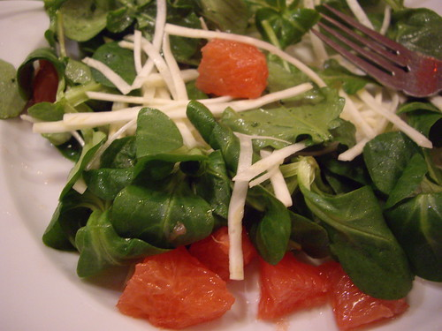 Grapefruit-Celeriac Arugula Salad