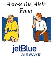 Across the Aisle from JetBlue