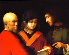 Giorgione (1477-1510) - 1510c. The Three Ages of Man (RasMarley) Tags: portrait italian painter groupportrait renaissance 16thcentury 1510 giorgione highrenaissance italianrenaissance 1510s thethreeagesofman