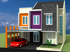Desain Rumah Minimalis Raffless Cibubur by Indograha Arsitama  Desain & Build