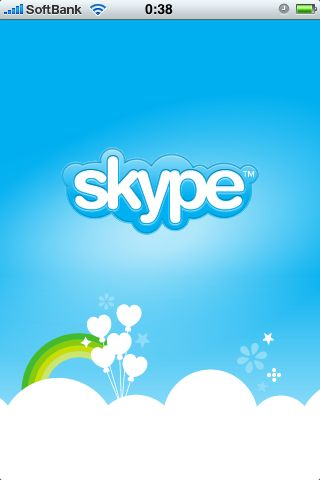 Skype for iPhone 1