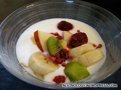 Home-made yoguart