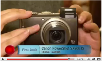 Canon PowerShot SX200 IS first look by Molly Wood of CNet