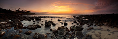 Under Golden Skys ( KristoforG) Tags: sunset panorama blur water canon gold hawaii gellert kristofor