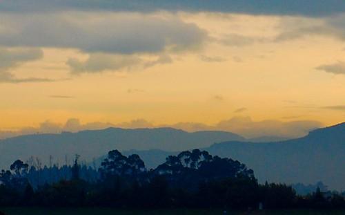 bogota sunrise
