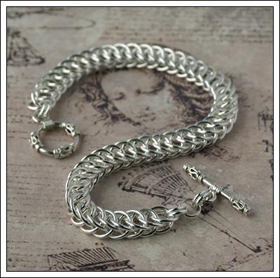 Half Persian 4-1 bracelet