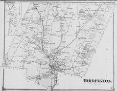 Torrington. (Petersen Collection) (uconnlibrariesmagic) Tags: connecticut magic ct torrington 1850 140000 wolcottville mapandgeographicinformationcenter petersencollection 37840143 daytonville magisterialdistricts