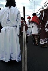 behind the scene action 2 (elgin_d) Tags: angel jesus peter inri tradition apostles sacrifice phillipines holyweek cainta highpriest panata crucufixion cenakulo holyweek2009 penitensya2009
