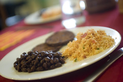 Mexican Couscous and Black Beans