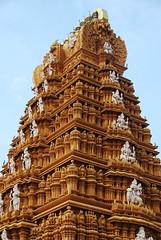 Temple tower (dr.sankar) Tags: india heritage temple religion towers shiva karnataka hinduism