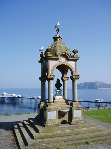 Victorian drinking fountain, Llandudno