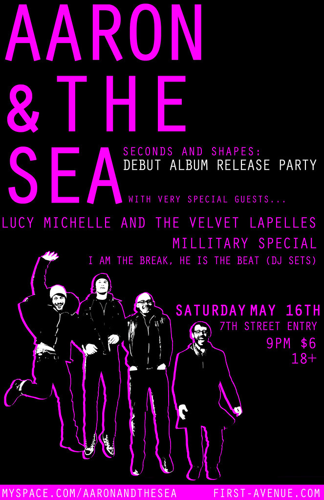 Record Release Party Flyer