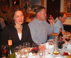 Sylvia entertains dinner convo (bryanDeldridge) Tags: winter oslo norway scandanavia