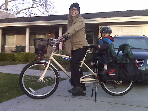 Winter Xtracycle ride