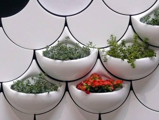 maruja fuentes, green design, living wall, indoor greenery, sustainable wall tiles, green pockets