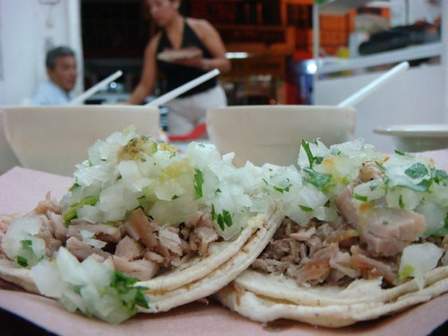 Taco party in Tapachula, Mexico.