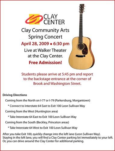 CCA Spring Concert