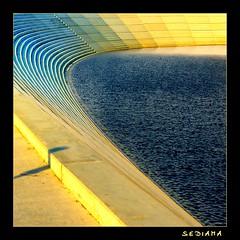 9000 sqm of stairs (sediama (break)) Tags: stairs germany pentax treppe explore duisburg innenhafen sirnormanfoster eurogate anawesomeshot sediama pentaxk20d stufenpromenade igp2897 bysediamaallrightsreserved