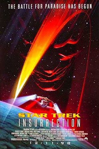 Star Trek: Insurrection, star trek wallpapers, startrek enterprise voyage, Star trek movie poster