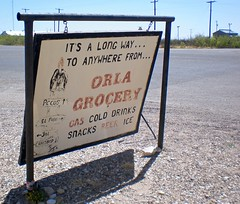 Orla Grocery (AppleCrypt) Tags: usa america town texas orla ghost roadtrip ghosttown ghosts westtexas wildwest frontier texan relic us285 highway285 applecrypt