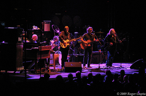 Acoustic Set by The Dead on 4/14/09 at the Verizon Center, Washington, D.C.