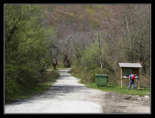 Inicio de la Ruta al Burdindogi