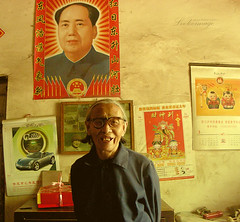 Back from countryside. (ShanLuPhoto) Tags: china countryside mao chairmanmao ruralarea