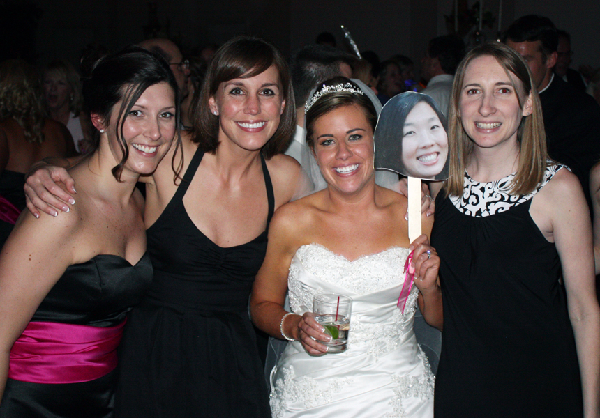 fab 5 at wedding 4/5