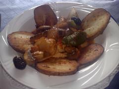 Chicken casserole at Bellini Bistro, Edinburgh