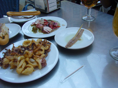 murcia fried octopi