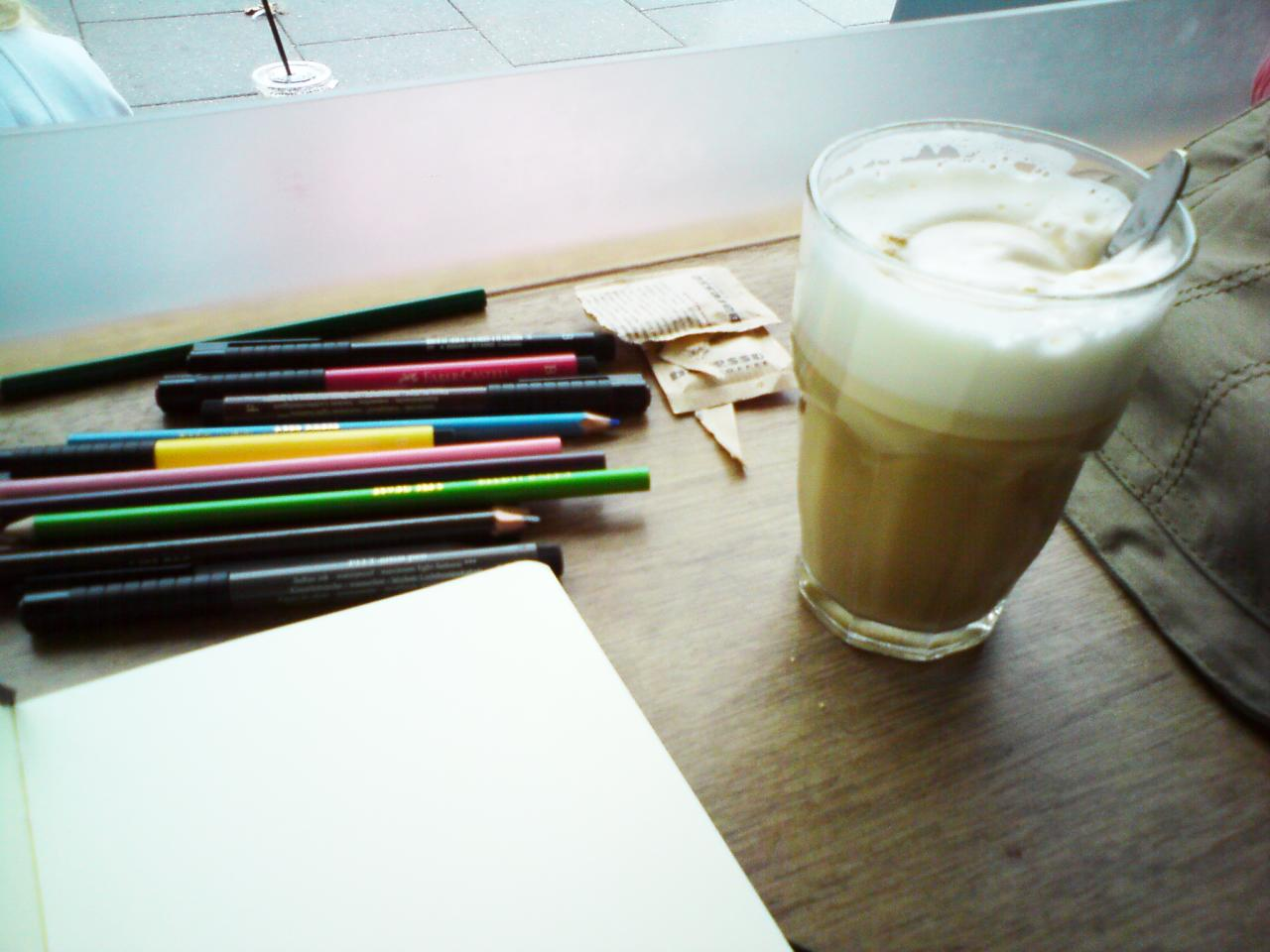 coffee-stop sketch-kit