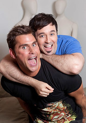 Jack Mackenroth and Fausto Fernós
