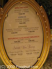 The Buffet Wynn Las Vegas Menu-2