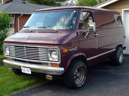 I Bought a 1977 Chevy Custom Van