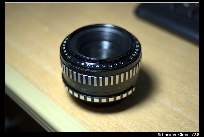 Schenider Kreuznach Xenar 50mm f/2.8