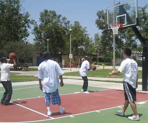 helen keller park basketball court