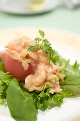 トマトクルベット (甘エビとトマトのサラダ), Champ de Soleil, Kanda