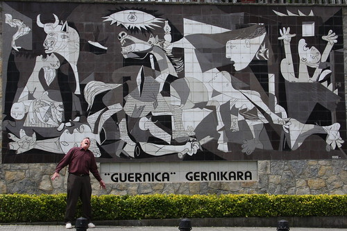 Picaso's Guernica Mural in Guernica