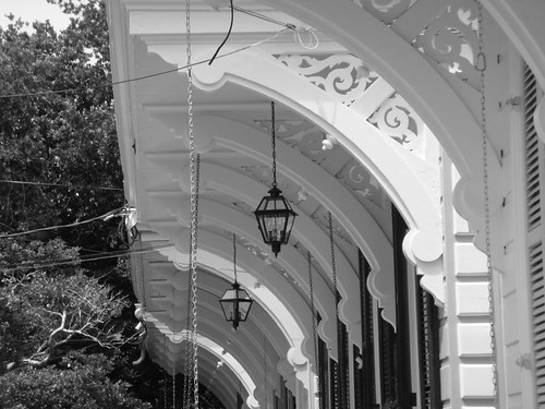 Porches, New Orleans Uptown.