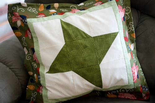 frienship star pillow