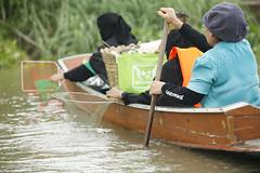 พายเรือคืนรอยยิ้มให้เจ้าพระยาถึงอยุธยาแล้ว Greenpeace activists canoe to Ayuthaya