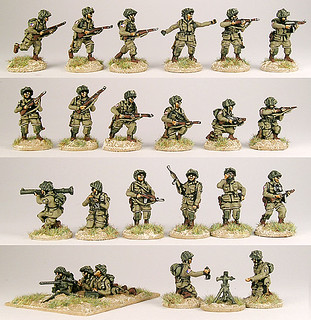 20mm Warmodelling US Paratroopers (OVERLORD)