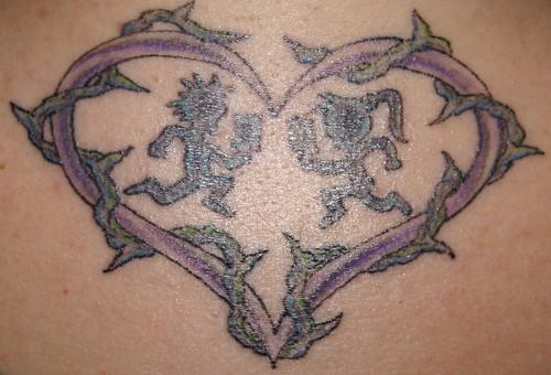 tattoo heart hatchetman Juggalette Tattoo Designs