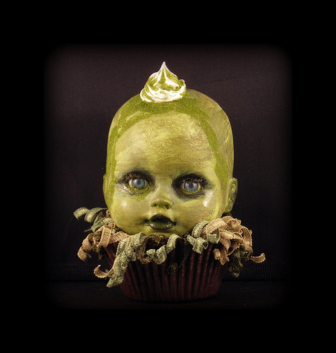 Sludge the Creepy Cupcake Kid