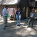 Mercury News environmental reporter Paul Rogers interviewing Leigh Westerlund & Ranger Tom Medema Yosemite Institute