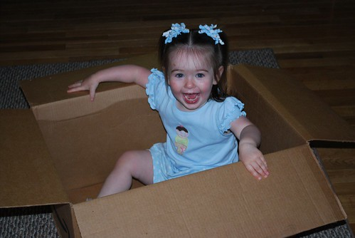 kid in a box
