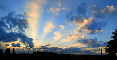 the sunset I missed! (geopalstudio) Tags: sunset sky panorama sun clouds nikon sofia bulgaria d60 digitalcameraclub justclouds  geopalstudio